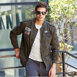 Military Army Casual Embroidery Jackets - WS-Jackets