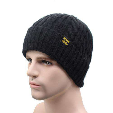 Knitted Wool Warm Skull Cap