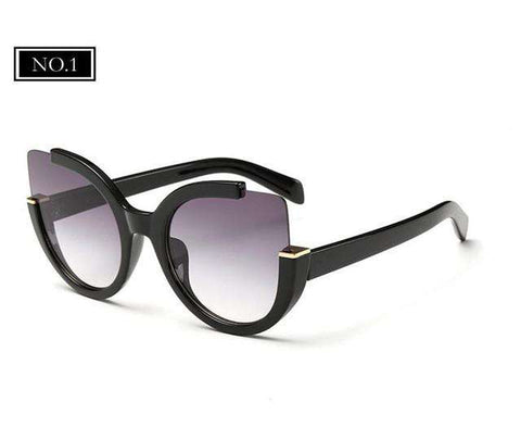 Cat Eye Designer Vintage Sunglasses