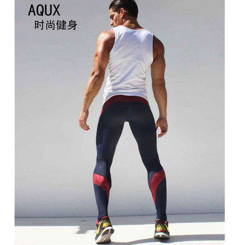 Mens Joggers Compression Track Pants