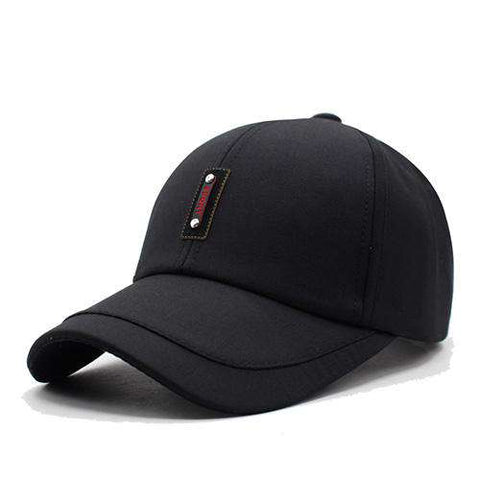 Fashion Baseball Bone Casual Plain Flat Adjustable Cap