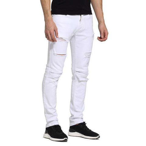 Design Ripped Stretch Skinny Jeans - Wear.Style