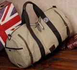 Military canvas Travel Large Tote Duffle Bag
