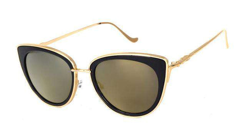 Retro Sexy Cat Eye Designer Alloy Legs Sunglasses - Wear.Style