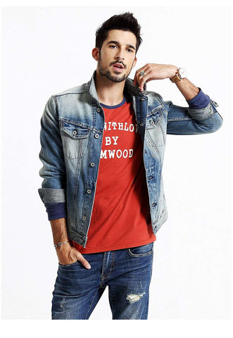 Slim Fit Jeans 100% Pure Cotton Denim Jacket
