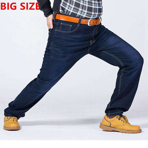 Elastic loose Jeans