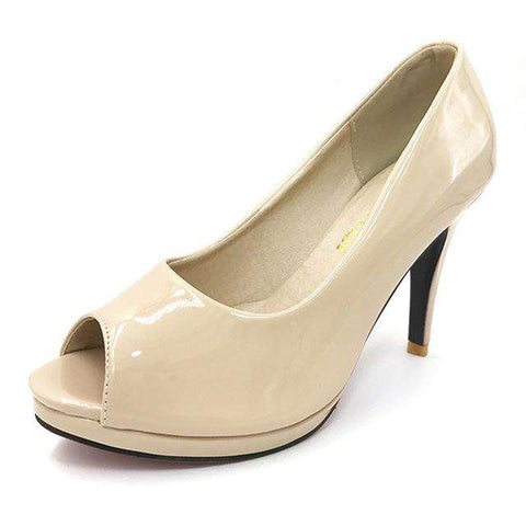 High Heel Peep Toe Shoes - Wear.Style