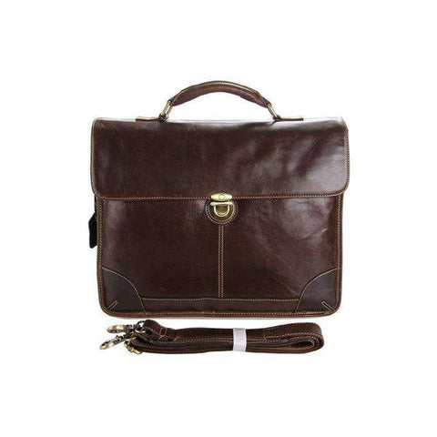 Genuine Leather Laptop Handbag