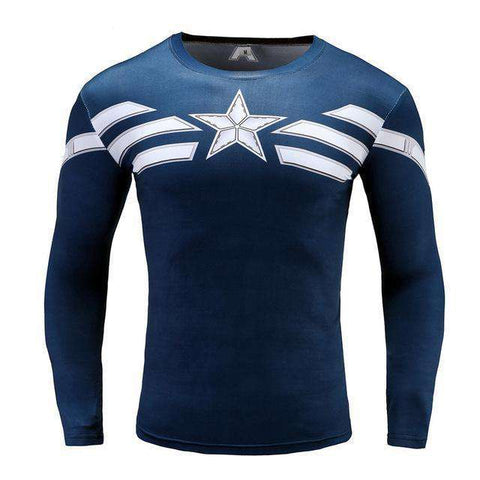 Captain America 3D Anime T-shirts - Wear.Style