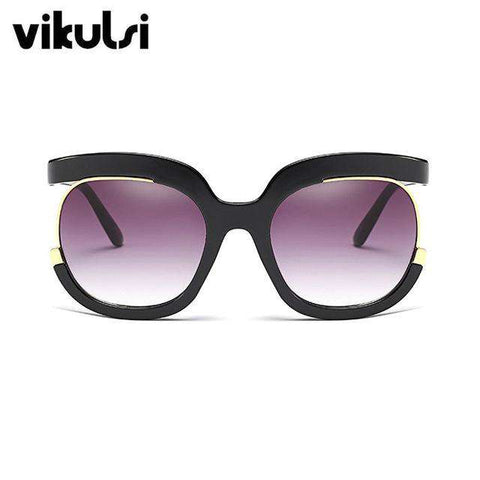 Luxury Designer Oversized UV400 Vintage Sun Glasses - Wear.Style