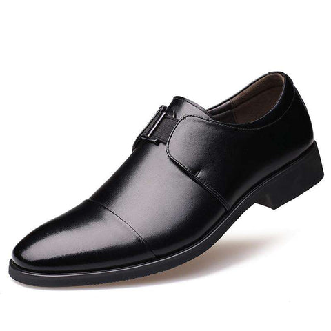 Pointed Toe Leather Luxury Oxford Shoes