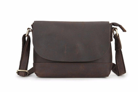 Genuine Leather Messenger Bags Cross Body Small Leisure Bag