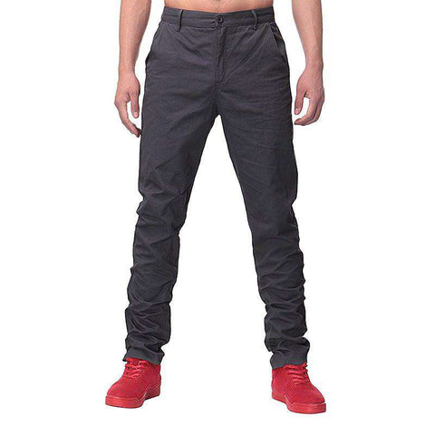 Slim Straight Long chinos Trousers - Wear.Style
