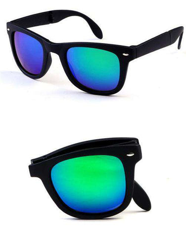Foldable Mirrored Sun Glasses - Wear.Style