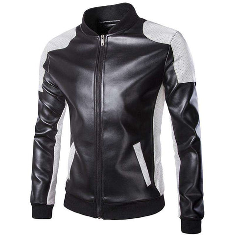 Motorcycle Leather Jacket - WS-Jackets