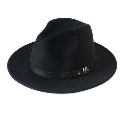 Wide Brim Jazz Hat