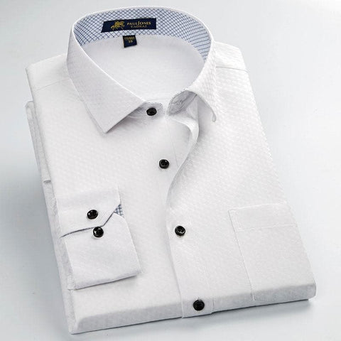 High Quality Formal Business Classic Design Comfortable Anti Wrinkle Fabrics Shirt