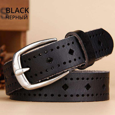 Leather Comfortable Hollow Small belt