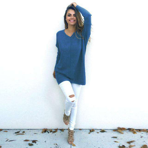 Sexy Casual Long Sleeve Sweaters - Wear.Style