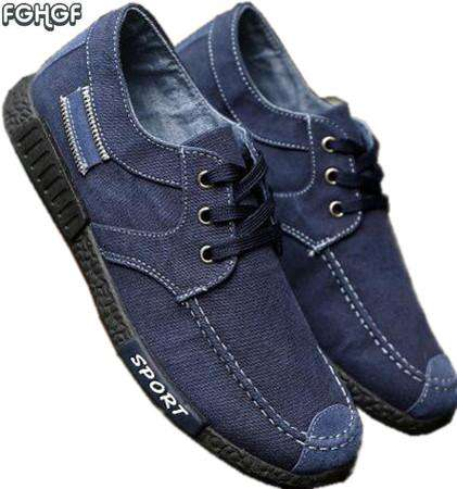 Denim canvas casual Shoes - Wear.Style