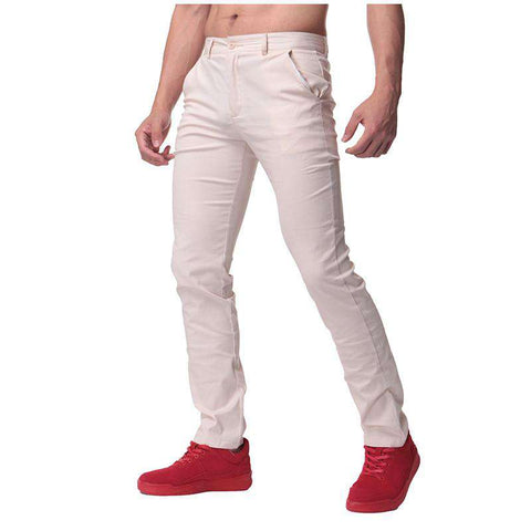 Cotton Slim Fit Pants