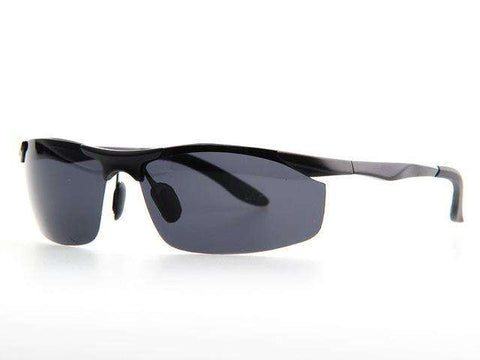Polarised Al-Mg Alloy Polaroid Ultralight Sun Glasses - Wear.Style