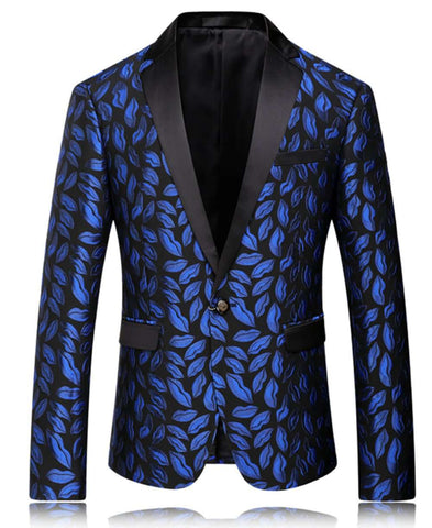 Printed High quality Brand Blazer