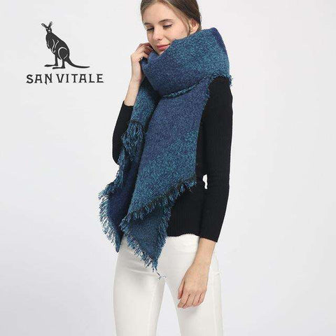 Warm Luxury Soft Fashion Scraf