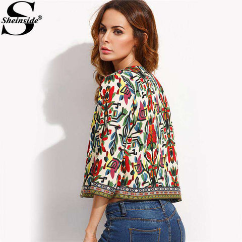 Embroidery Outerwear Winter Tribal - WS-Jackets