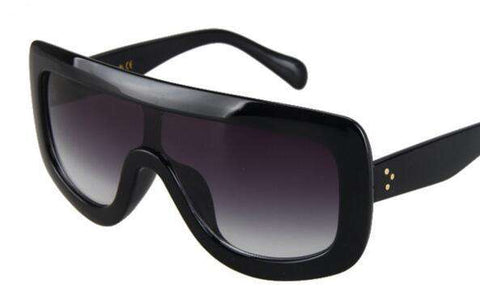 Square Designer Big Frame Gradient Sun Glasses