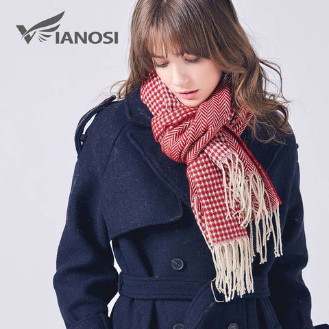 Stylish Warm Long Tassel Scarf