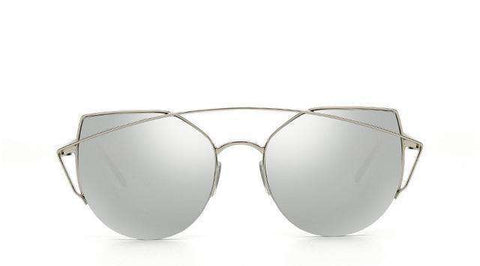 Cat eye Luxury Designer Metal Original Sun Glasses - Wear.Style