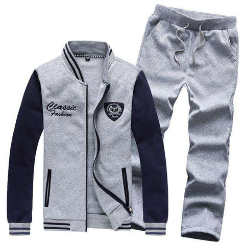 Casual Men Suit Good Quality Slim Men Track Suit