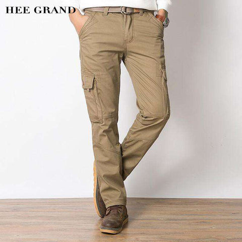 Cargo Cotton Material Thick Warm Winter Pants - Wear.Style