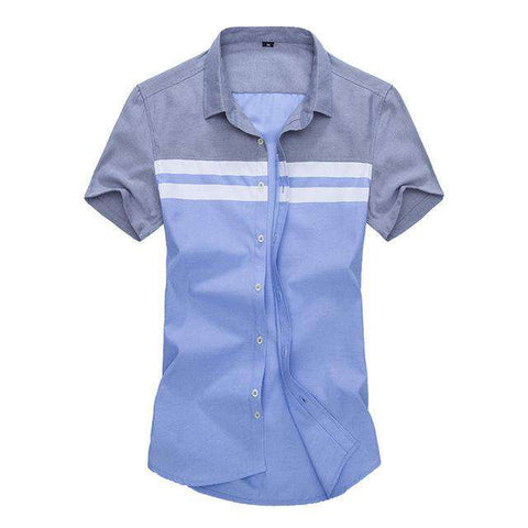 Short Sleeve Regular Fit Striped Shirt - Wear.Style