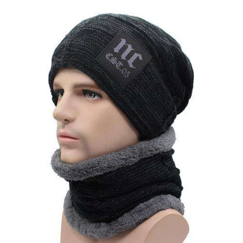 Winter Knitted Skull Caps