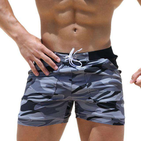 Sexy Men's Swimwear Beach Long Shorts - Wear.Style