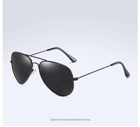 Classic Polarised Reflective Lens Retro Sun Glasses