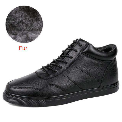 Genuine Leather Handmade Lace-Up Boots - Wear.Style