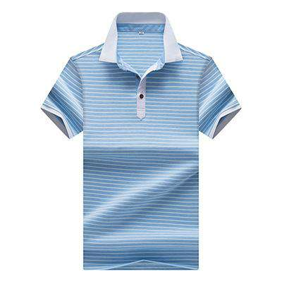 Striped Top Quality Summer Short Sleeve Polo Tees