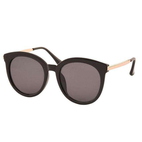 Cat Eye Summer Style Big Size Frame Mirror Sunglasses - Wear.Style