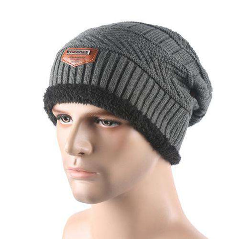 Warm Baggy Wool Knitted Caps