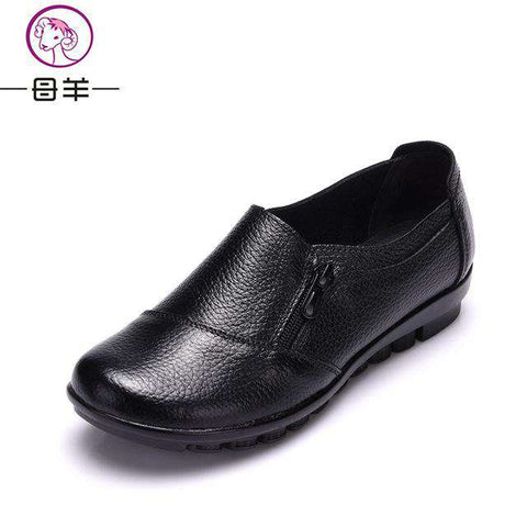 Genuine Leather Breathable Shoes - Wear.Style