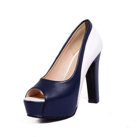 High Heel Peep Toes - Wear.Style