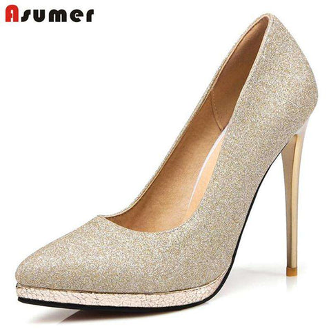 Pointed Toe High Heels - Wear.Style