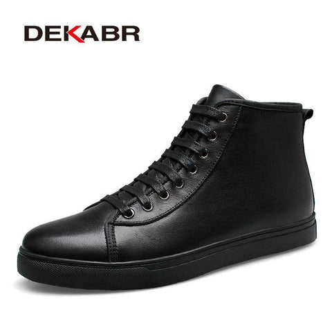 Genuine Leather Ankle Boots - Wear.Style