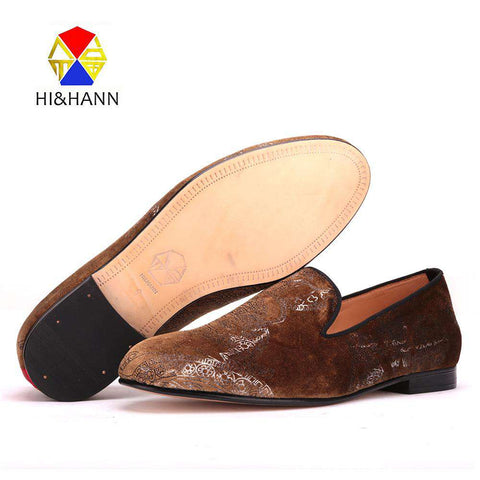Brown Velvet Shoes - Wear.Style
