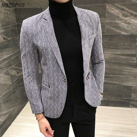 Single Breasted Slim Fit Stylish Blazers
