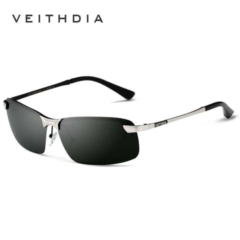 Polarised Rimless Sun Glasses - Wear.Style