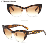Cat Eye Designer Vintage Sun Glasses - Wear.Style